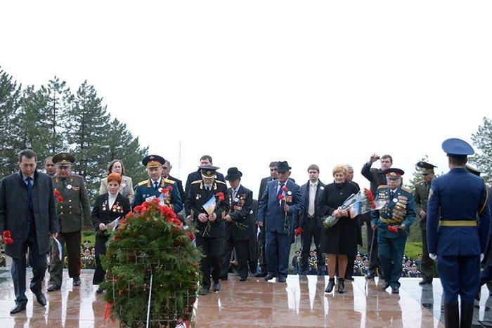 «Эстафета Памяти» проходит в столице Республики Таджикистан
