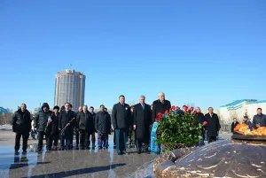 В Астане проходит акция МПА СНГ «Эстафета Памяти»