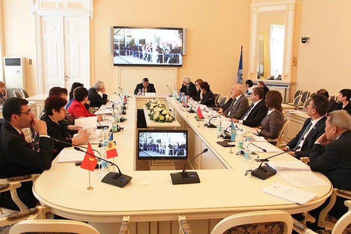 В Таврическом дворце проходит заседание Постоянной комиссии МПА СНГ по социальной политике и правам человека