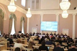 42 пленарное заседание МПА СНГ прошло в Таврическом дворце