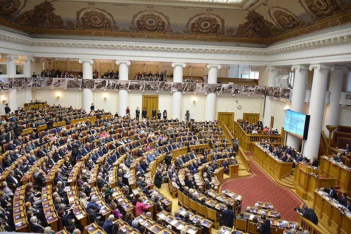 Владимир Путин направил приветствие в адрес участников торжественного пленарного заседания МПА СНГ, посвященного 70-летию Победы в Великой Отечественной войне