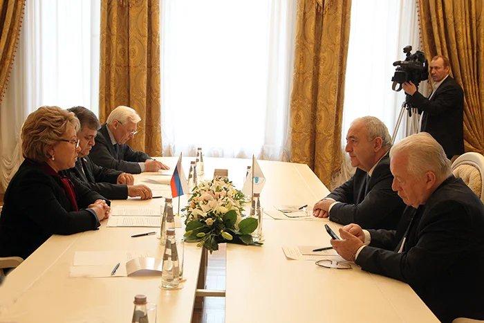 В рамках весенней сессии МПА СНГ Валентина Матвиенко встретилась с Генеральным секретарем ПАЧЭС