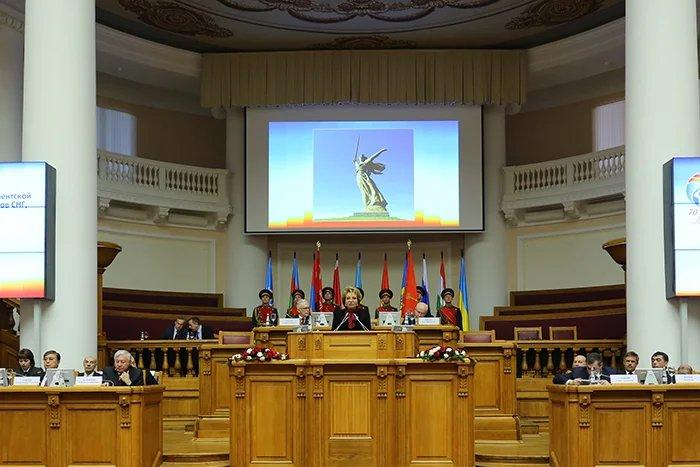 Валентина Матвиенко: «МПА СНГ подает пример единства действий в борьбе с попытками переписать историю»
