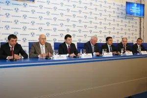 Пресс-конференция по итогам весенней сессии МПА СНГ прошла в Таврическом дворце