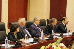 В Астане прошло организационное совещание группы наблюдателей от МПА СНГ