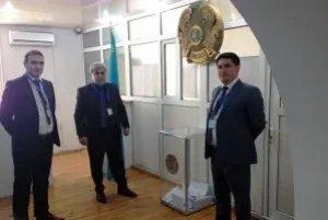 На избирательном участке в Баку в день выборов Президента Казахстана нарушений не выявлено