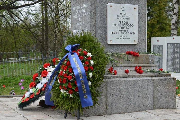 Делегация Секретариата Совета МПА СНГ посетила мемориал  «Березовая аллея»