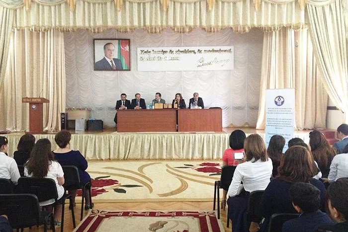 Бакинский филиал МИМРД МПА СНГ подвел итоги конкурса сочинений