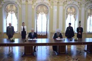 Подписано Соглашение о сотрудничестве между Секретариатом Совета МПА СНГ и Санкт-Петербургской епархией РПЦ