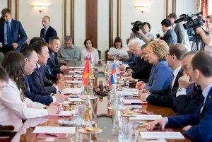 Валентина Матвиенко: Мы высоко оцениваем работу Кыргызской Республики в МПА СНГ