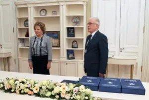 Валентина Матвиенко наградила сотрудников Секретариата Совета МПА СНГ