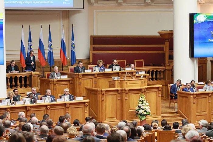 В Таврическом дворце прошло пленарное заседание VII Невского международного экологического конгресса