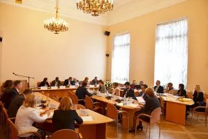 О международной миграции говорили в Таврическом дворце
