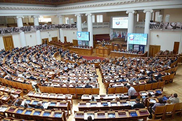 В штаб-квартире МПА СНГ прошел V Съезд строителей СЗФО