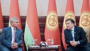 Состоялась встреча Владимира Андрейченко и Асылбека Жээнбекова