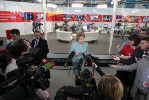 Председатель Совета МПА СНГ приняла участие в ПМЭФ-2015