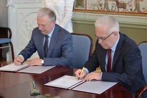 Подписано соглашение о сотрудничестве между Секретариатом Совета МПА СНГ и СПбГЭУ