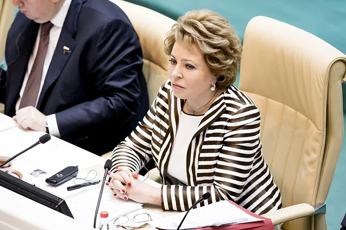 Валентина Матвиенко подвела итоги весенней сессии верхней палаты российского  парламента