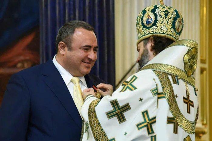 Представителя МПА СНГ отметили высокой наградой РПЦ