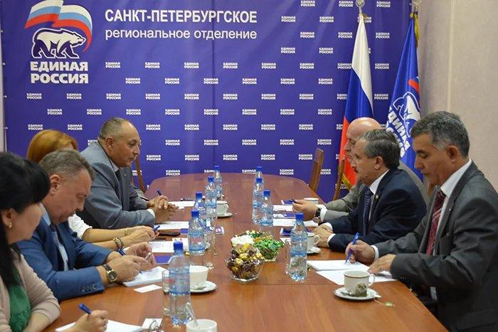 Члены политических партий России и Таджикистана обсудили вопросы сотрудничества