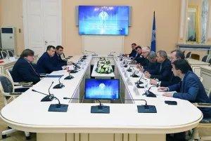 Представители МПА СНГ провели встречу с кандидатами в Губернаторы Ленинградской области