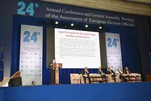 Директор МИМРД МПА СНГ участвует в работе 24-ой ежегодной конференции АОВСЕ