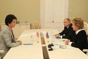 На полях Евразийского женского форума прошли переговоры Валентины Матвиенко и Нино Бурджанадзе