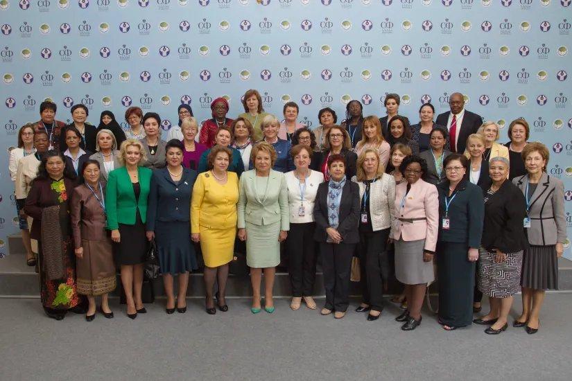 Руководители делегаций на Евразийском женском форуме предложили проводить его регулярно