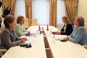 На полях Форума стоялась встреча с женщинами - политиками Республики Молдова