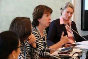 «Круглый» стол «Диалог в мире – мир на Земле» посвятили роли женщины в поддержании межкультурного диалога