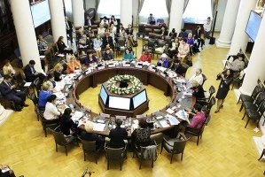 Во время Евразийского женского форума работали четыре дискуссионные площадки