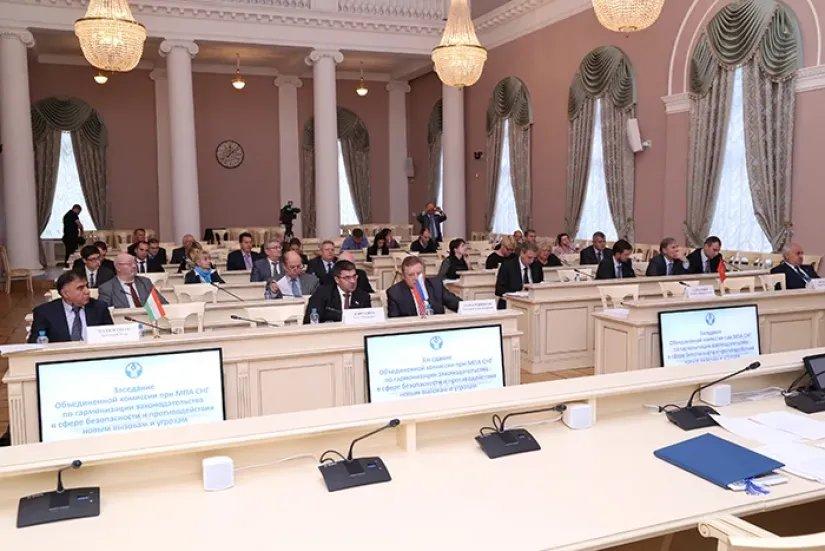 Прошло заседание Постоянной комиссии МПА СНГ по вопросам обороны и безопасности