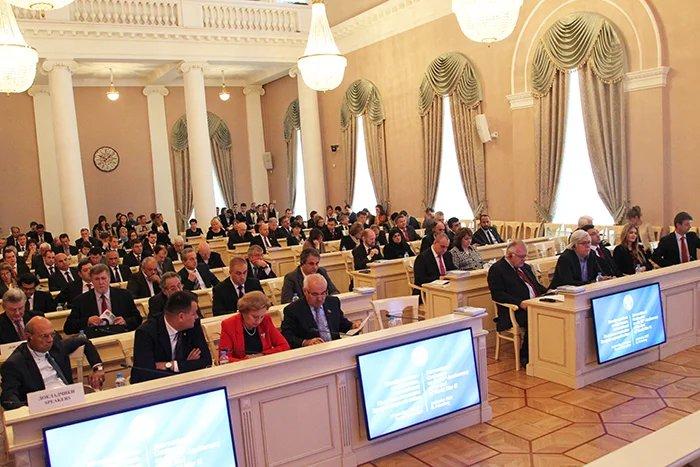 В Таврическом дворце прошла Международная конференция, посвященная  70-летию окончания Второй мировой войны