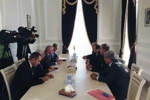 Прошла встреча наблюдателей МПА СНГ с руководством Милли Меджлиса и ЦИК Азербайджанской Республики