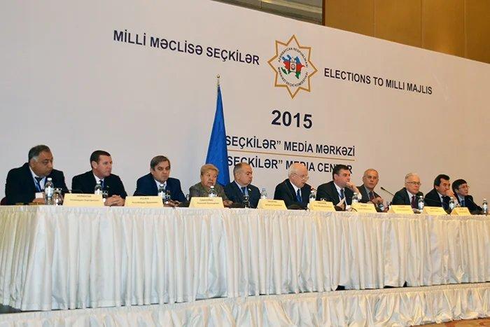Миссия наблюдателей СНГ признала парламентские выборы в Азербайджане свободными, открытыми и конкурентными