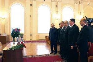 Делегация Секретариата Совета МПА СНГ почтила память погибших в авиакатастрофе