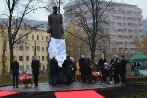 Памятник Комитасу открыли в Санкт-Петербурге