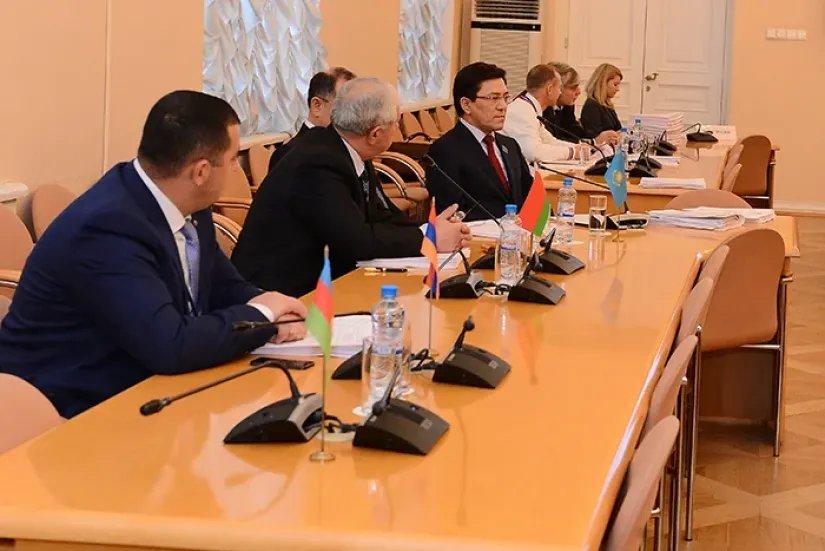 Прошло заседание Постоянной комиссии МПА СНГ по экономике и финансам