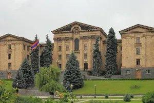 Прошла встреча наблюдателей от МПА СНГ с заместителем Председателя Национального Собрания Республики Армения