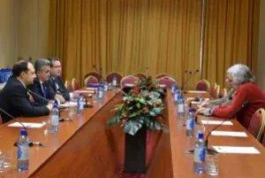 Координатор группы наблюдателей от МПА СНГ встретился с руководителем мониторинговой миссии от Парламентской Ассамблеи Совета Европы