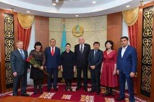 Награды МПА СНГ вручены в Парламенте Республики Казахстан