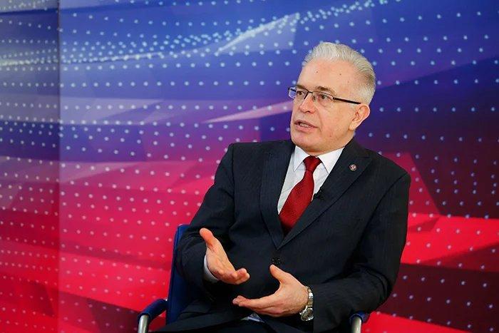 Алексей Сергеев рассказал журналистам о планах МПА СНГ на будущий год