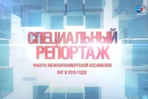 Телеканал «ВМЕСТЕ - РФ» представил специальный репортаж о работе МПА СНГ в 2015 году