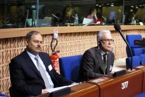Делегация МПА СНГ принимает участие в сессии Парламентской ассамблеи Совета Европы