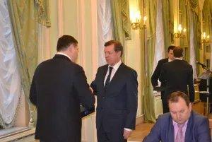 Почетную грамоту Совета МПА СНГ вручили президенту Санкт-Петербургской торгово-промышленной палаты