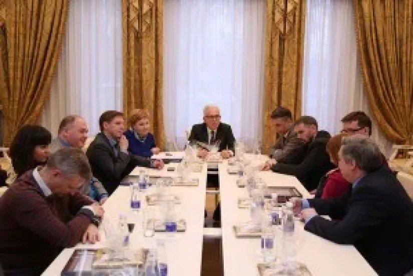 Алексей Сергеев встретился с представителями СМИ
