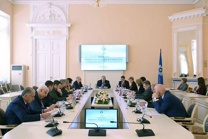 Заседание Контрольно-бюджетной комиссии МПА СНГ прошло в Таврическом дворце