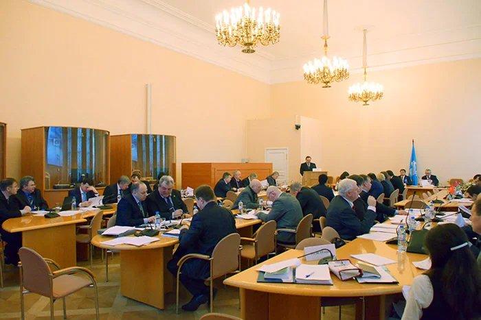 В штаб-квартире МПА СНГ обсуждают вопросы по гармонизации законодательства в сфере безопасности и противодействия новым вызовам и угрозам