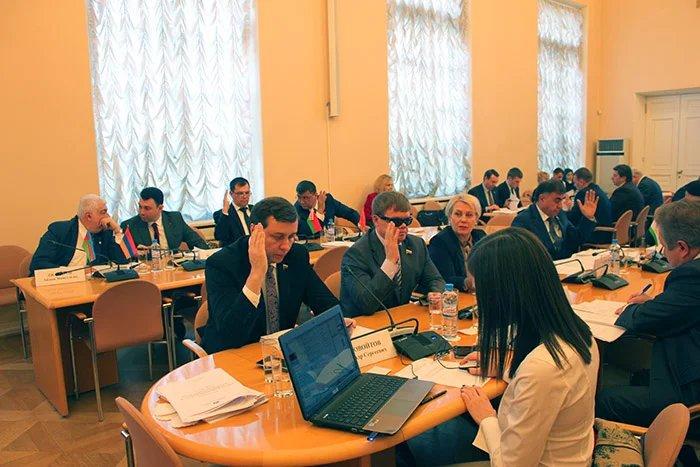 Завершилось заседание Постоянной комиссии МПА СНГ по вопросам обороны и безопасности