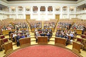 Сотрудниц Секретариата Совета МПА СНГ поздравили с женским праздником